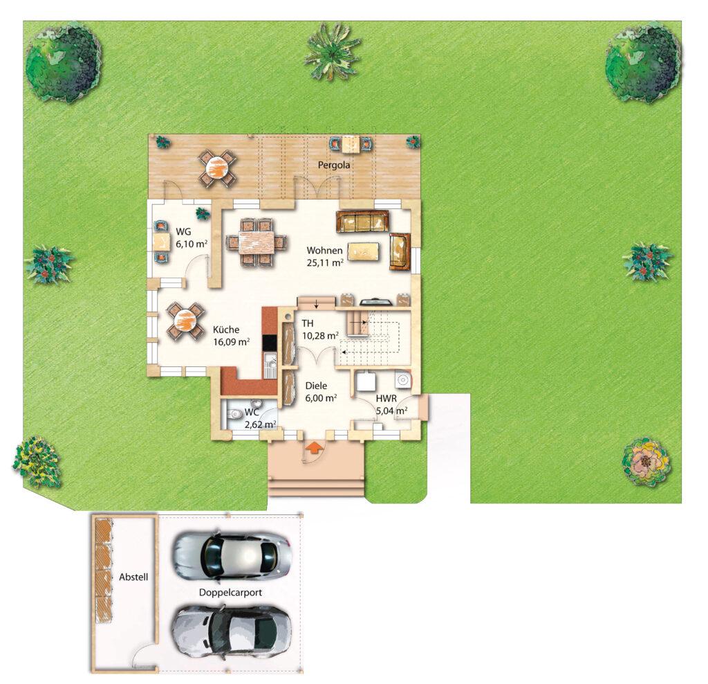 Landhaus bauen